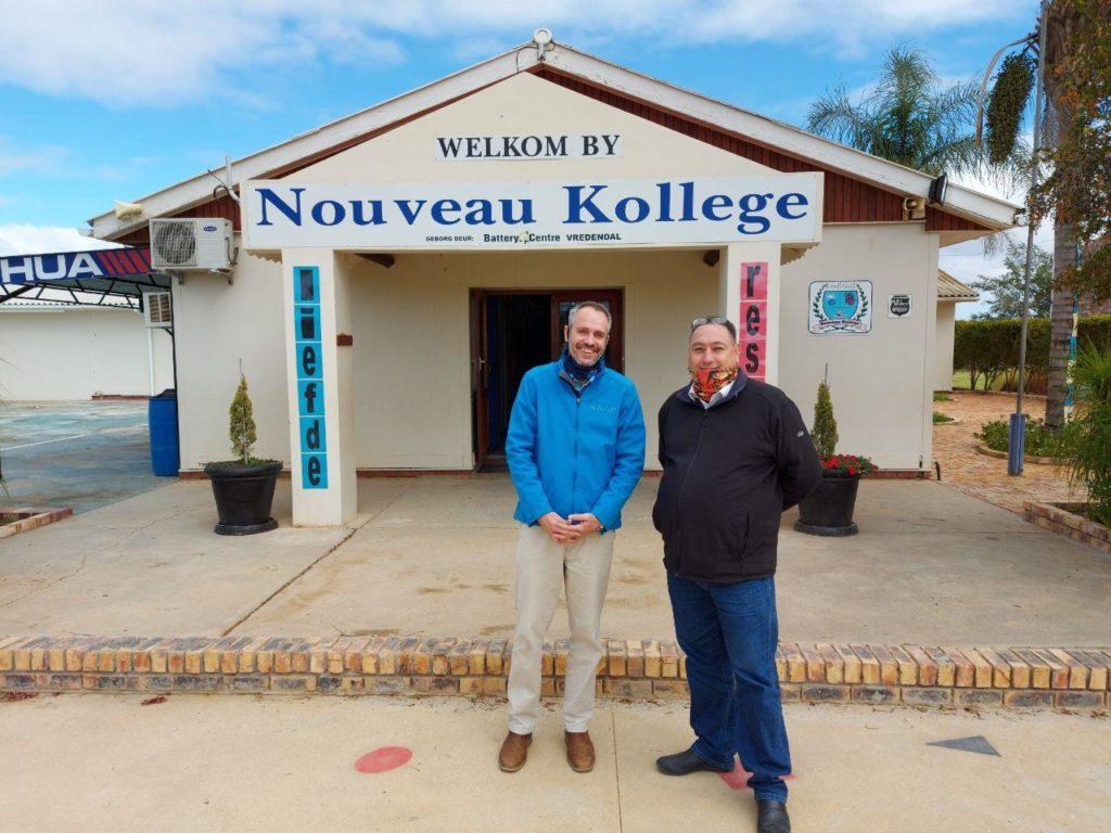 (Bossie Bosman, Trusc; Mr. Cobus Coetzee, Principal)